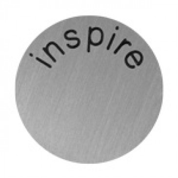 Inspire Large Silver Coin