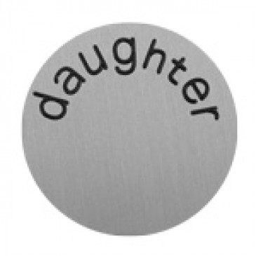 Daughter Large Silver Coin