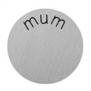 Mum Large Silver Coin