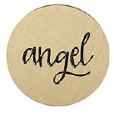 Angel Large Gold Coin