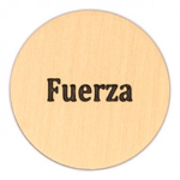 Fuerza Large Gold Coin