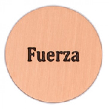 Fuerza Large Rose Gold Coin