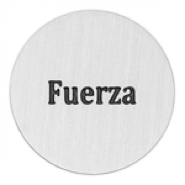 Fuerza Large Silver Coin