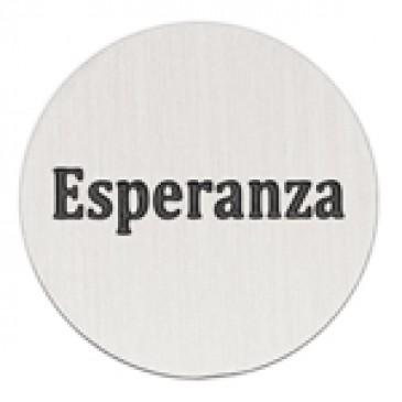 Esperanza Large Silver Coin