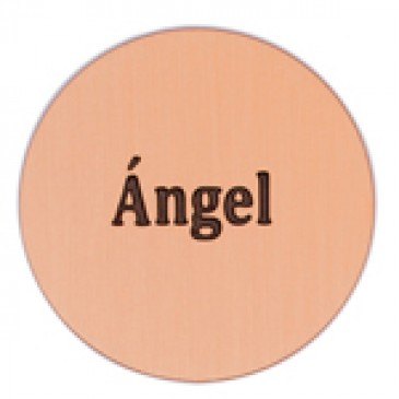 Angel Large Rose Gold Coin