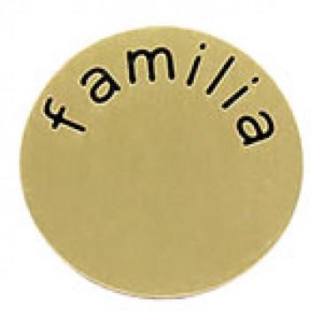 Familia Large Gold Coin