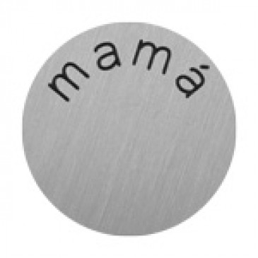 Mama Large Silver Coin