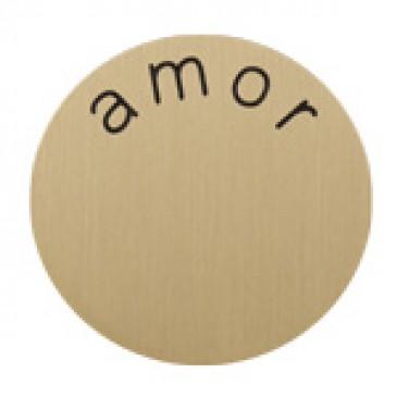 Amor Medium Gold Coin