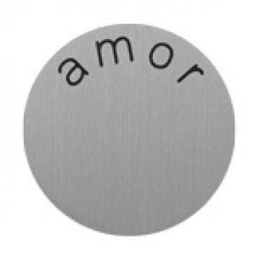 Amor Medium Silver Coin