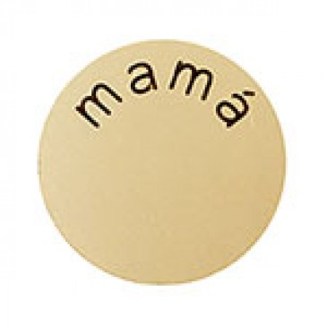 Mama Medium Gold Coin
