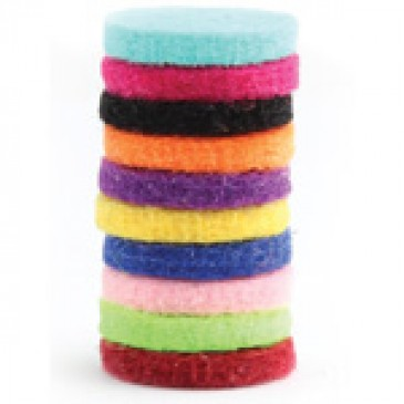 Assorted Colors of Scent-able Coins - 10 Pack