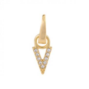 Gold Crystal V Droplet