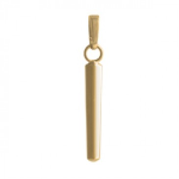 Gold Vertical Droplet