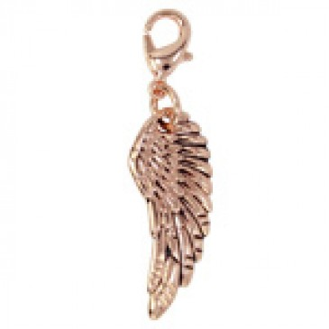 Rose Gold Wing Droplet