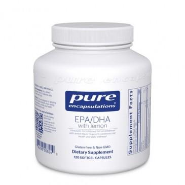 EPA/DHA with lemon 120 vcaps