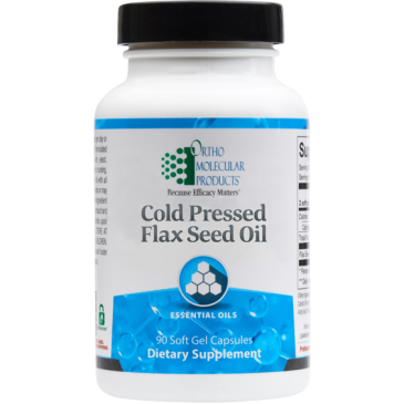 Flax Seed Oil - 90 Count