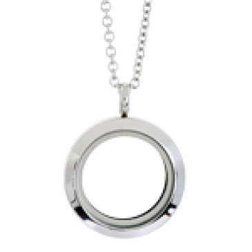 Medium Silver Locket