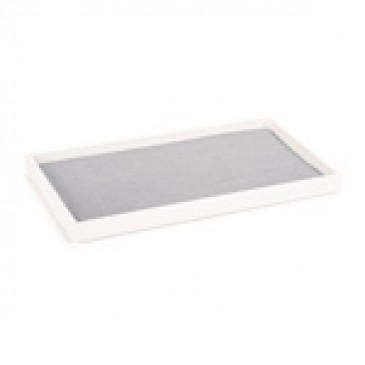 White Stackable Tray