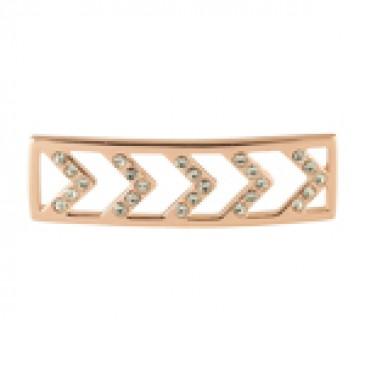 Build A Bracelet: Rose Gold Chevron Screen