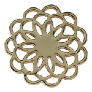 Medium Gold Flower Screen