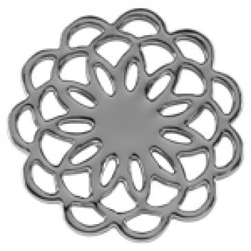 Medium Silver Flower Screen