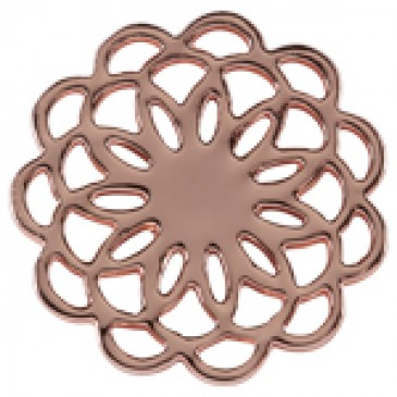Medium Rose Gold Flower Screen