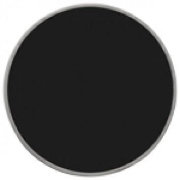 Medium Black Enamel Coin