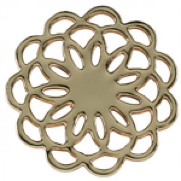 Large Gold Flower Screen