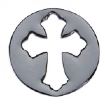 Large Silver Cross Screen