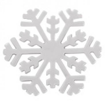 Large Silver Snowflake Screen