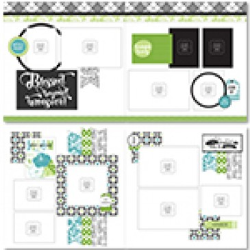 Tropical Bloom Page Layout Kit