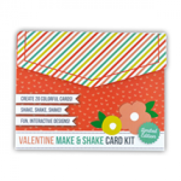 Valentine Make and Shake Card Kit
