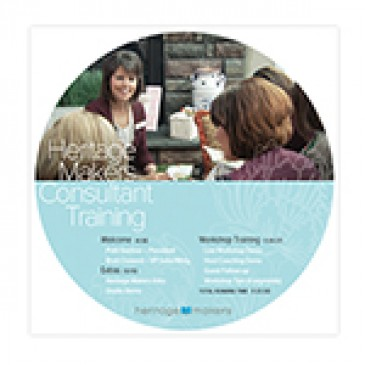 Heritage Makers Overview DVD