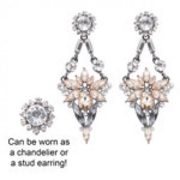 Stellate Detachable Earrings