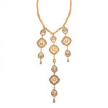 Dangling Gem Necklace