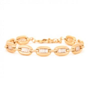 Radiant Gold Tone Bracelet
