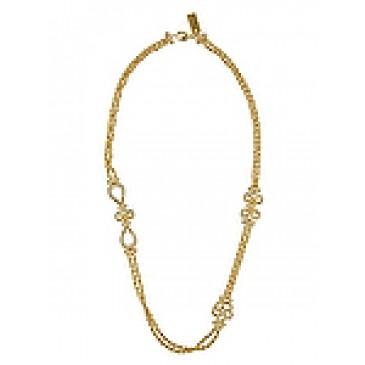 Everlasting Gold Tone Necklace
