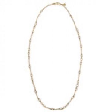 Victoria Antique Brass Necklace