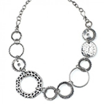Sassy Hoops Necklace