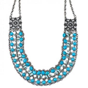 Savannah Blue Necklace