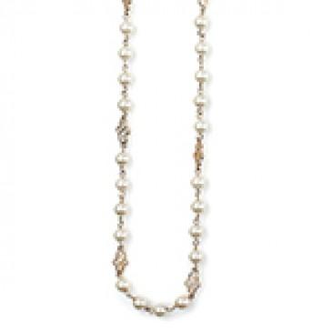 Precious Pearls Gold Necklace