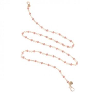 Infinity Blush Gold Chain