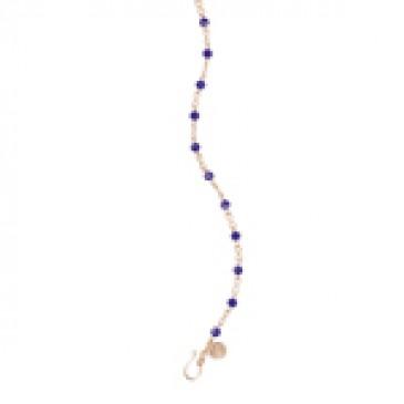 Infinity Purple Gold Chain