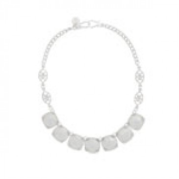 Fiona Silver Necklace