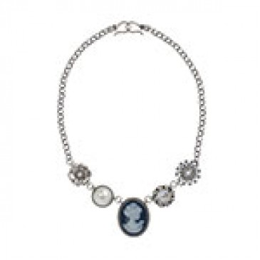 Cameo Silver Necklace