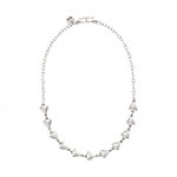 Arrows Expression Silver Necklace