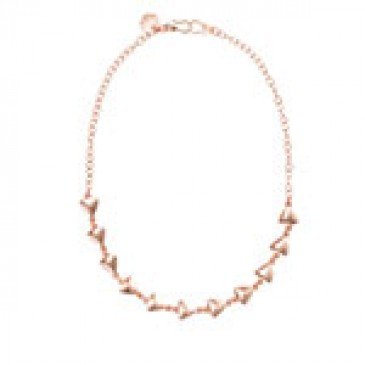 Arrows Expression Rose Gold Necklace