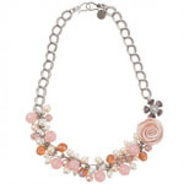 Charlotte Silver Necklace