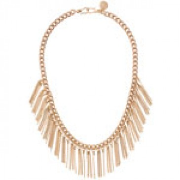 Fringe Gold Necklace