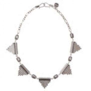 Evie Silver Necklace